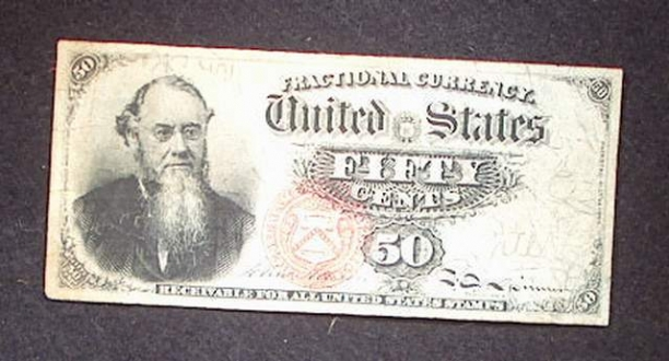 1376 4th Issue 50 Cent Note