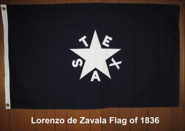 Lorenzo de Zavala Flag of 1836