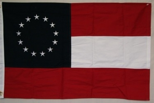 Confederate 1st National 13 Stars