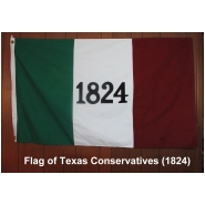 Flag of Texas Conservaties
