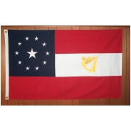 Stars & Bars 1st Irish