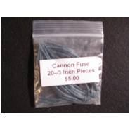 Mini-Cannon Fuse Package of 100