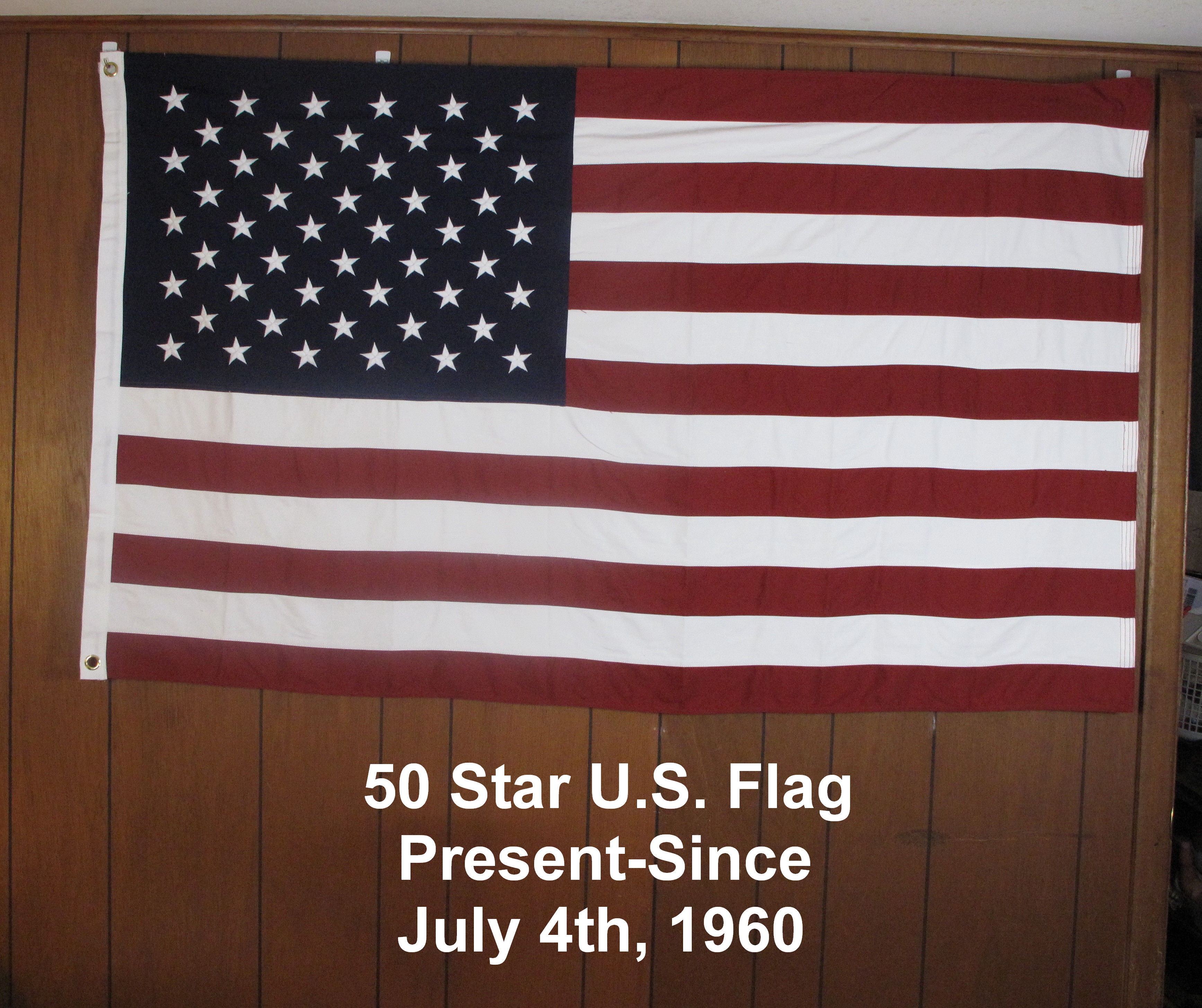 50 Star U.S. Flag--Present Day