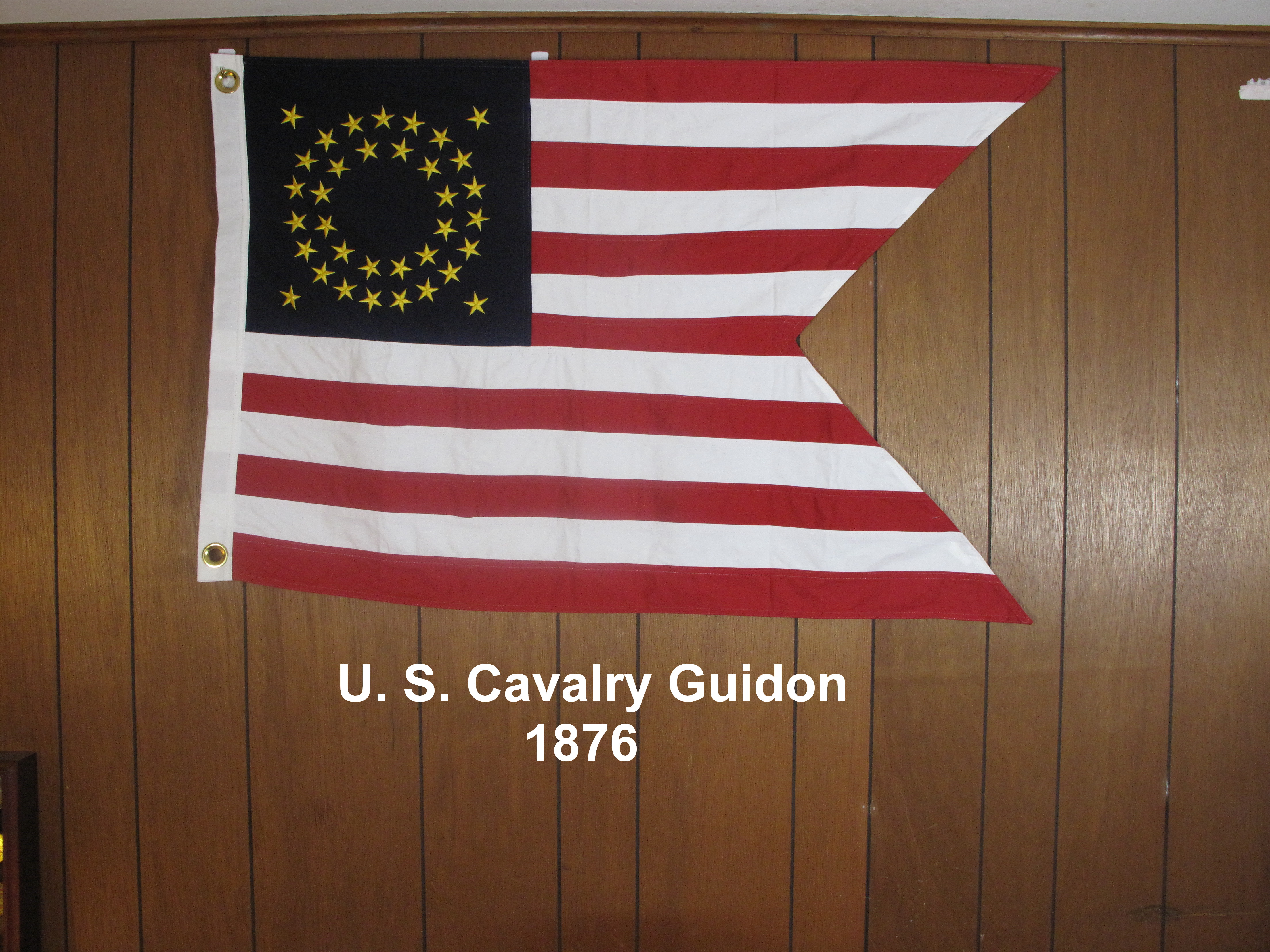 U.S. Cavalry Guidon 1876